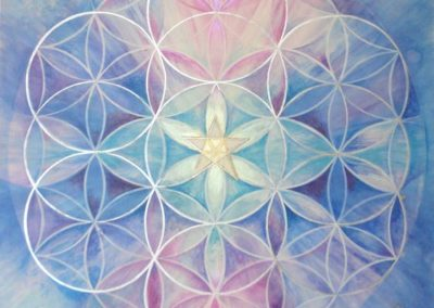 Ank and Flower of Life
